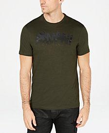 A|X Armani Exchange Men's Staggered Logo T-Shirt
