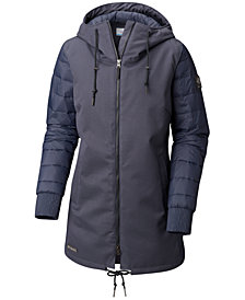 Columbia Boundry Bay Hooded Waterproof Hybrid Jacket