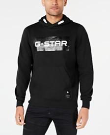 G-Star RAW Men's Swando Block Logo Hoodie, Created for Macy's