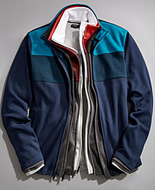 Alfani Men's Colorblocked Full-Zip Jacket, Created for Macy's