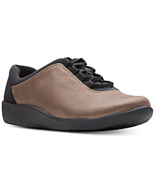 Clarks Collection Women's CloudSteppers Sillian Pine Sneakers