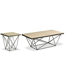 Colson Table Furniture, 2-Pc. Set (Coffee Table & End Table)