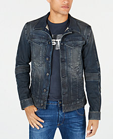 G-Star RAW Mens Motac Denim Jacket, Created for Macy's