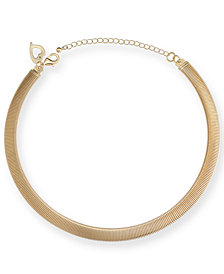Thalia Sodi Gold-Tone Omega Chain Collar Necklace, Created for Macy's