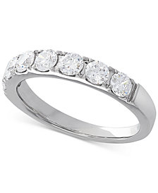Lab Grown Diamond Band (1 ct. t.w.) in 14k White Gold