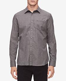 Calvin Klein Men's Brushed Twill Shirt