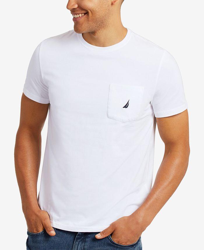 Nautica - Men's Anchor Pocket T-Shirt