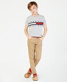 Graphic-Print Cotton T-Shirt, Big Boys