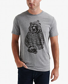 Lucky Brand Men's Cozy Bear Graphic T-Shirt