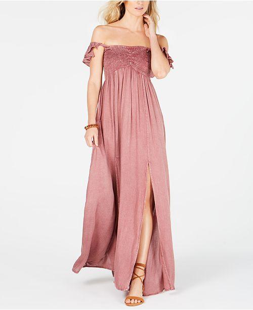 Raviya Ruffled Maxi Dress Cover-Up
