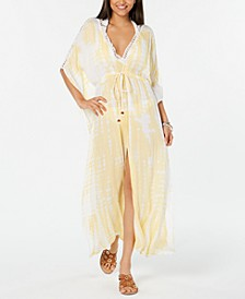 Tie-Dye Maxi-Dress Cover-Up