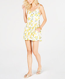 kate spade new york Printed Romper Cover-Up