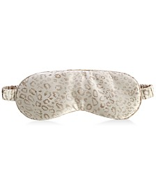 Silken Slumber Printed Silk Eye Mask