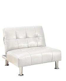 Hollie Faux Leather Club Chair