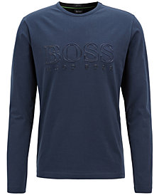 BOSS Men's Logo Graphic Long-Sleeve T-Shirt