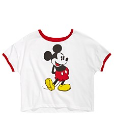 Disney Big Girls Mickey Mouse T-Shirt