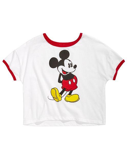 e7be60c73da Disney Big Girls Mickey Mouse T-Shirt   Reviews - Shirts   Tees ...