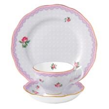 Royal Albert Candy 3 Piece Love Lilac Set