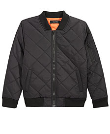 Ring of Fire Big Boys Regis Quilted Bomber Jacket, Created for Macy's