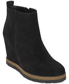 DKNY Daisy Wedge Booties, Created for Macy's