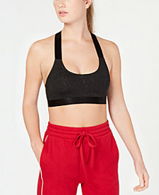 Material Girl Active Juniors' Low-Impact Sports Bra, Created for Macy's