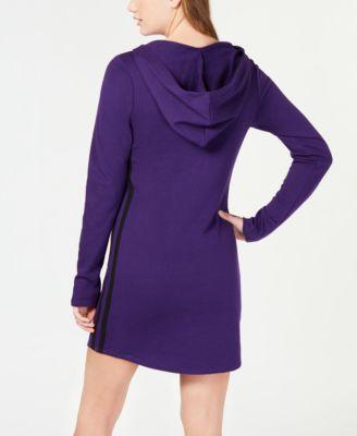 ebaf1ed288f Juniors  Varsity-Stripe Sweater Dress