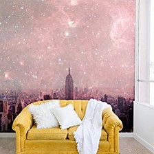 Bianca Green Stardust Covering New York 12'x8' Wall Mural