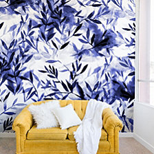 Deny Designs Jacqueline Maldonado Changes Indigo Wall Mural