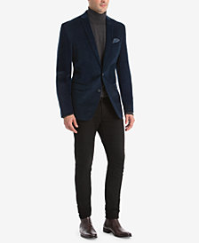Bar III Men's Slim-Fit Stretch Corduroy Suit Separates, Created for Macy's