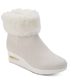 DKNY Aron Wedge Booties, Created for Macy's