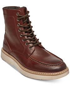 Self Made by Steve Madden Men's Joeey Leather Boots