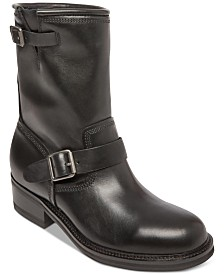 Self Made by Steve Madden Men's Madman Leather Boots