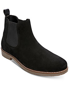 Steve Madden Men's Nevada Suede Chelsea Boots