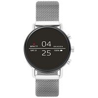 Skagen Men's Falster 2 Stainless Steel Mesh Bracelet 40mm Smart Watch