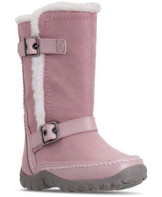Nine West Toddler Girls\u0027 Naydine Winter Boots from Finish Line