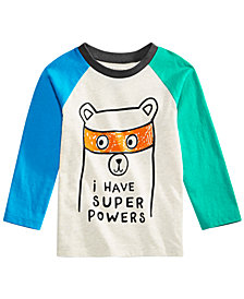 First Impressions Baby Boys Super Powers Graphic Cotton T-Shirt, Created for Macy's