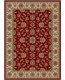 "CLOSEOUT!! Pesaro Meshed Red 5'5"" x 7'7"" Area Rug"