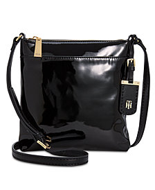 Tommy Hilfiger Julia North South Patent Crossbody