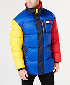 Tommy Hilfiger Men's Wilson Colorblocked Puffer Jacket