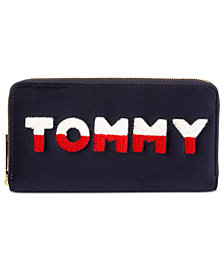 Tommy Hilfiger Tommy Velvet Zip Around Wallet