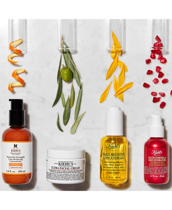 Kiehl's Since 1851 Dermatologist Solutions Powerful-Strength Line-Reducing Concentrate, 3.4 fl. oz. & Reviews - Skin Care - Beauty - Macy's