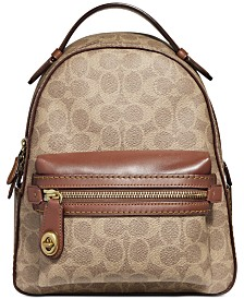 COACH Signature Campus Backpack 23