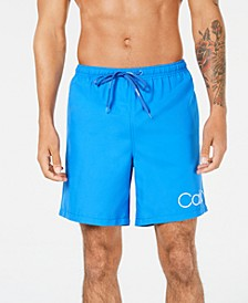 "Men's Logo 7"" Volley Swim Trunks, Created for Macy's"