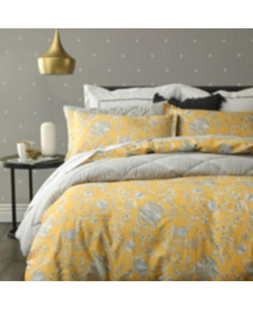 Small World Home Simone 3-Pc 100% Cotton Reversible Duvet Set