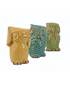 Imax Wise Owls - Set of 3