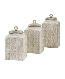 Imax Dreanna Canisters - Set of 3