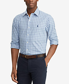 Polo Ralph Lauren Men's Slim Fit Plaid Cotton Shirt
