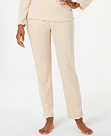 Ande Slim-Leg Waffled Pajama Pants