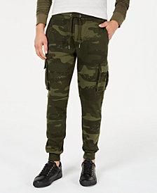 American Rag Men's Camo-Print Cargo Jogger Pants, Created for Macy's