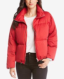 Karen Kane Zip-Front Puffer Jacket